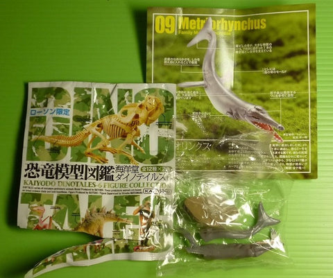 Kaiyodo Dinotales Dinosaur Part 6 Lawson Limited Collection No 09 A Metriorhynchus Figure - Lavits Figure