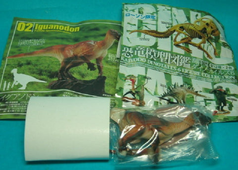 Kaiyodo Dinotales Dinosaur Part 6 Lawson Limited Collection No 02 B Iguanodon Figure - Lavits Figure