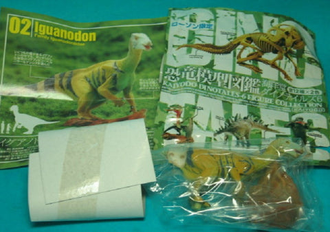 Kaiyodo Dinotales Dinosaur Part 6 Lawson Limited Collection No 02 A Iguanodon Figure - Lavits Figure