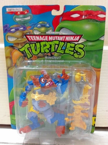 Playmates TMNT Teenage Mutant Ninja Turtles Wingnut & Screwloose Action Figure Set - Lavits Figure