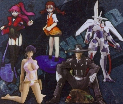 CM's Movic Gun x Sword 5 Trading Figure Set