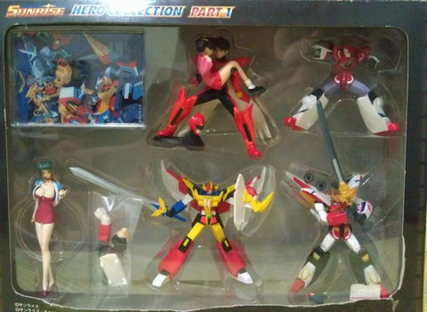 Yujin Sunrise Hero Collection Part 1 Gaogaigar Dagwon Trading Figure Set - Lavits Figure