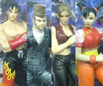 Epoch 1/10 Namco's Tekken 3 Jin Nina Ling Paul 4 Action Collection Figure Set - Lavits Figure  - 1