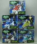 Trendmasters Voltron Galaxy Guard Stealth Mighty Lion Force 5 Cycle Action Figure Set - Lavits Figure