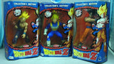 "Irwin Dragon Ball Z DBZ Collector's Edition S.S. Gohan Vegeta Goku 3 9"" Trading Figure Set - Lavits Figure  - 1"