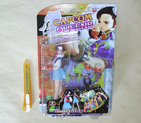 "Moby Dick Capcom Queens Street Fighter Hinata 7"" Action Figure Set - Lavits Figure"