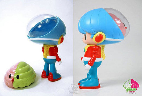 "2-Far Playthings 2011 Kinoss International Miloza Ma Brain Child 8"" Vinyl Figure - Lavits Figure  - 1"