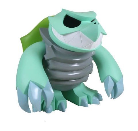 "Play Imaginative 2008 Touma Skuttle Giant Skuttle Monster Green 18"" Vinyl Figure - Lavits Figure  - 1"