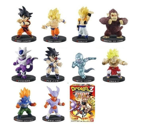 Bandai Dragon Ball Z Deformation The Chapter of Movie 10 Mini Trading Figure Set - Lavits Figure
