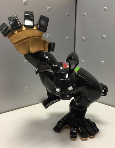 "Coarsetoys Mark Landwehr Paw! Customized 3 Limited Ducati Black 12"" Vinyl Figure - Lavits Figure  - 1"