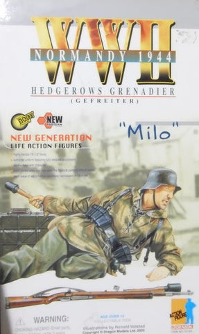 "Dragon 1/6 12"" WWII Normandy 1944 Hedgerows Grenadier Gefreiter Milo Action Figure - Lavits Figure  - 1"