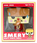 "Phalanx Creative 2008 Smery And Friends Original Brown Ver 5"" Vinyl Figure - Lavits Figure  - 1"