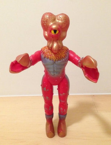 "Max Toy Co Mark Nagata Alien Xam Angry Red Edition Ver 10"" Vinyl Figure - Lavits Figure"