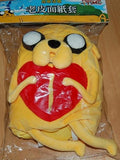 "Adventure Time Taiwan Hi-Life Limited Jake the Dog Ver 15"" Tissue Paper Bag Plush Doll Figure - Lavits Figure  - 2"