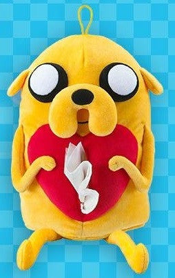 "Adventure Time Taiwan Hi-Life Limited Jake the Dog Ver 15"" Tissue Paper Bag Plush Doll Figure - Lavits Figure  - 1"
