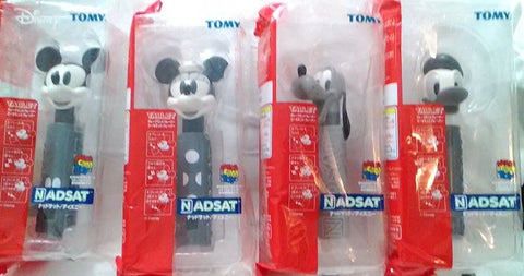 Medicom Toy Tomy Disney Tablet Nadsat Mickey Minnie Bluto Donald Duck 4 Monochrome Ver Figure Set - Lavits Figure