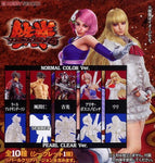 Bandai Tekken 6 Super Modeling Soul Of Hyper Figuration 5 Color 5 Pearl 10 Trading Figure Set - Lavits Figure  - 1