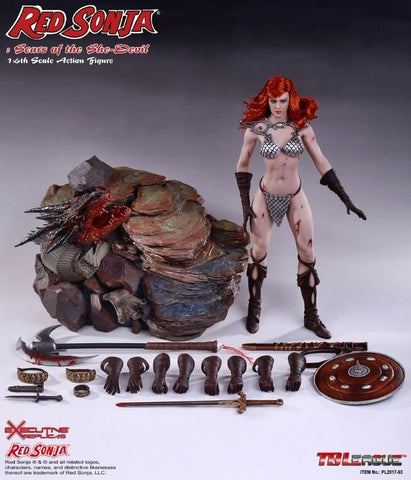 "Phicen 1/6 12"" PL2017-93 Red Sonja Action Figure"