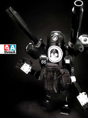 ThreeA 3A Toys 1/12 Ashley Wood WWR Bertie MK3 Nightwatch Ver Action Figure Used