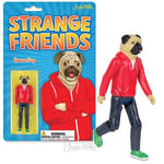 Archie McPhee Strange Friends Roscoe Pug Action Figure