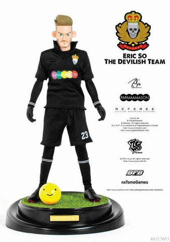 "ZCWO 12"" 1/6 Eric So BFB The Devilish Team Beckham Action Figure"