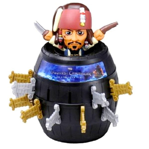 Takara Tomy Blackbeard Boss Pop Up Pirate Pirates of the Caribbean ver Game Set Figure