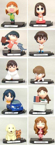 Bandai Azumanga Daioh Gashapon Part 2 10 Trading Figure Set