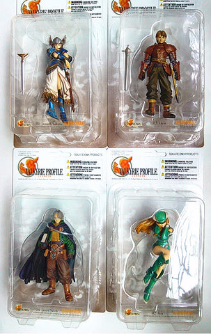 Square Enix Products Valkyrie Profile Trading Arts 4 Figure Set