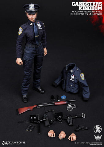 "DamToys 1/6 12"" Gangsters Kingdom GKS003 Annie Lewis A.Lewis Action Figure"