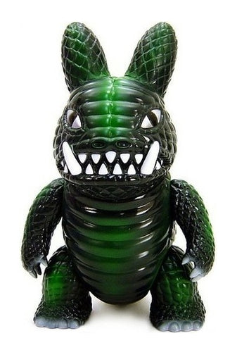 "Wonderwall 2007 Frank Kozik KFGU Kaiju For Grown Ups Usagi Gon Green Ver 6"" Vinyl Figure"