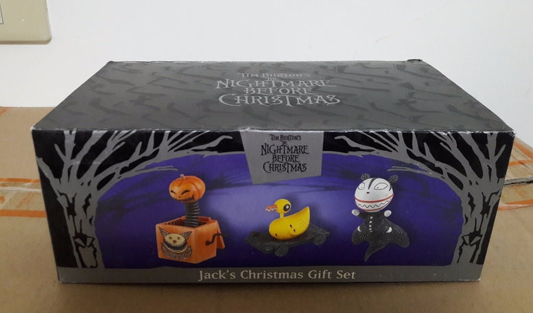disney tim burton the nightmare before christmas jacks christmas gift figure set