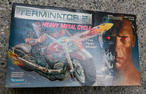 Kenner Terminator 2 Heavy Metal Cycle Figure