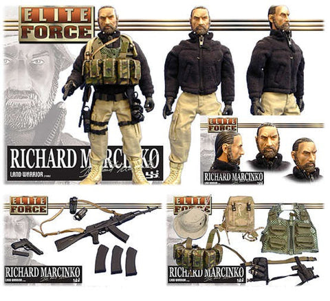 "BBi 12"" 1/6 Elite Force Legendz Richard Marcinko Action Figure - Lavits Figure"