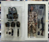 "Dragon 12"" 1/6 British Fighting Soldier Royal Marines Commando Al-Faw Peninsula Mel Action Figure - Lavits Figure  - 2"