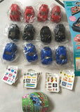 Epoch 2011 Gashapon Choro Q Part 2 12 Mini Car Figure Set - Lavits Figure  - 2