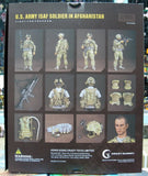 "Crazy Dummy 1/6 12"" 78005 Fight For Freedom U.S. Army ISAF Soldier In Afghanistan Action Figure - Lavits Figure  - 3"