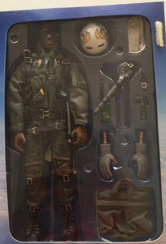 "Hot Toys 2000 1/6 12"" U.S. Air Force Combat Aircrew Pilot Will Smith Action Figure"