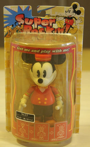 Sega Disney Characters Super Rockin No 37 Mickey Mouse Bobble Head Figure - Lavits Figure