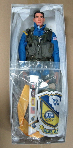 "Hot Toys 1/6 12"" Blue Angels U.S. Air Force Combat Aircrew Pilot Action Figure - Lavits Figure  - 1"