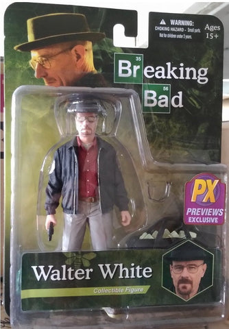 "Mezco Toys Breaking Bad PX Previews Exclusive Walter White Heisenberg 6"" Collectible Figure - Lavits Figure"