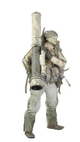 "ThreeA 3A Toys 2013 Ashley Wood Interheavy Tomorrow King Bambaland Exclusive 6"" Vinyl Figure - Lavits Figure  - 1"