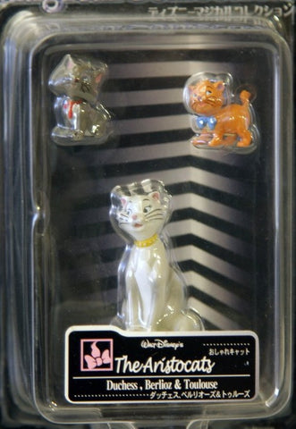 Tomy Disney Magical Collection 080 The Aristocats Duchess Berlioz Toulouse Trading Figure - Lavits Figure  - 2