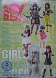 Bandai Tokusatsu Girls In Uniform Vol 5 6+1 Secret 7 Figure Set - Lavits Figure  - 3