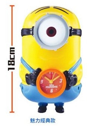 "Minions 7-11 Limited Coin Bank Clock Figure 7"" Classic Ver - Lavits Figure"