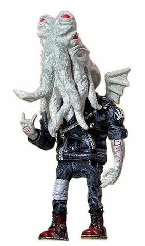 "2013 Mighty Jaxx Daniel Yu Oi! Cthulhu Albino Exclusive White Ver 6"" Resin Figure - Lavits Figure  - 1"