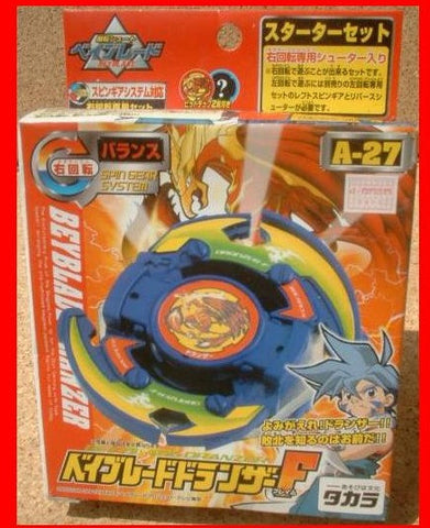 Takara Tomy Metal Fight Beyblade A-27 A27 Dranzer F Model Kit Figure - Lavits Figure