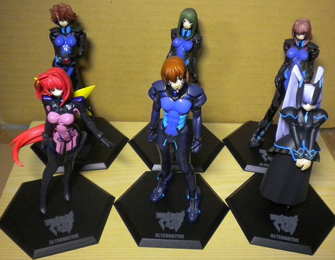 Volks Muv-Luv M.O.E. Age Burning Alternative Ultimate Characters Part 04 6 Figure Set Used - Lavits Figure  - 1