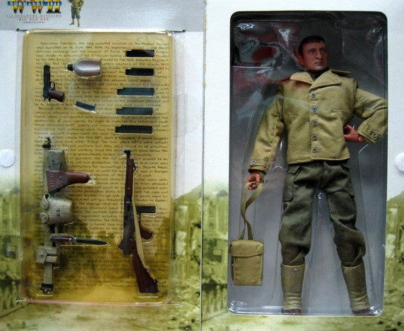 """Dragon 12"""" 1/6 WWII Normandy 1944 1st Infantry Division"""