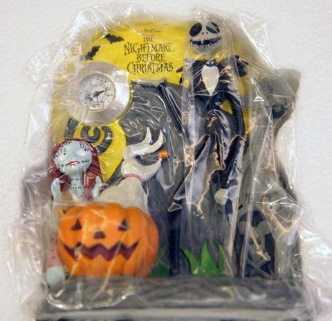 Run'A Tim Burton The Nightmare Before Christmas Table Clock Figure - Lavits Figure  - 1