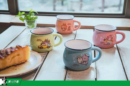 "Kanahei's Small Animals Taiwan Darlie Limited 4 5"" Ceramic Mug Set"
